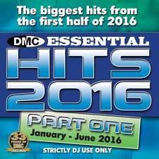 DMC Essential Hits 2016 Part 1 Mid Year Chart Music DJ CD