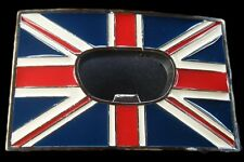 UNION JACK ENGLAND UK BRITISH BOTTLE OPENER BELT BUCKLE BOUCLE DE CEINTURE