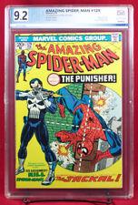 AMAZING SPIDER-MAN #129 (Marvel) PGX (not CGC) 9.2 NM- FIRST PUNISHER! Netflix!