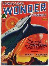 Thrilling Wonder Stories Fall 1945 Pulp Magazine Vol. 27 No. 3, Ed Weston