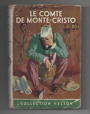 Collection NELSON n°185. DUMAS. Le Comte de Monte-Cristo T. 2. Jaquette. 1955