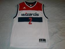 Smith 2 Washington Wizards NBA adidas Authentics White Jersey Boys Medium used