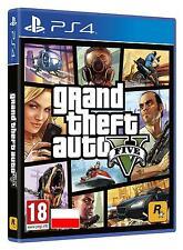 Grand Theft Auto V GTA 5 PS4 PL Polnisch Polska Polish version NEW NEU OVP