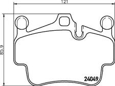Hella Pagid Front Brake Pads fits Porsche BOXSTER 987 3.4 RS 60 S 3.4 2.9