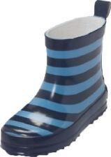 Playshoes Gummistiefel Ringel Größe 24 In Marine/hellblau