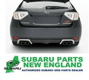 Genuine OEM Subaru WRX STi Exhaust Tip Finisher E7710FG030 ***FIRESALE***