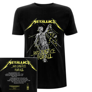 Metallica And Justice For All Tracks Shirt S-XXL Official T-Shirt Band Tshirt