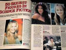 1997 Femme Fatales SCI FI's SEXY 50 STARS Alice Krige (LIKE NEW COPY)