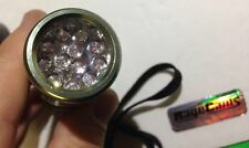 12 IR LED INFRARED NIGHT VISION TUBE SPY ILLUMINATOR TORCH 850NM PORTABLE POWER