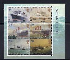 Great Britain 2004 Ocean Liners souvenir sheet (Scott 2207a) Vf Mnh
