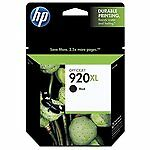 HP OfficeJet Black Ink 920XL For HP 6000, 6500, 6500A, 7000, 7500, 7500A New