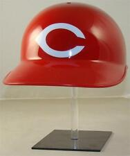 TWO CINCINNATI REDS BASEBALL HELMET VINYL STICKER DECAL BATTING HELMET DECAL
