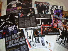 Metallica Rare Collection Clippings 27 pages