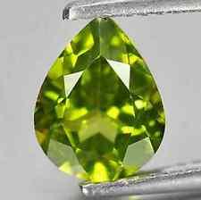 1.86 ct Natural Untreated Pear-cut TopFire-Luster Green VS1 Peridot