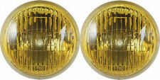 NEW! 1965-1968 Mustang GT Fog Light Lamps, Bulbs Amber Set 2, Pair Free Shipping
