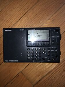 Radioshack DX-398 Synthesized Receiver Shortwave Radio Fm stereo MW/LW/SW