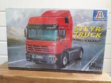 "Italeri 1:24 No 744 Steyr - Truck ""Green Class"" LKW Plastic Modelkit , 1997"