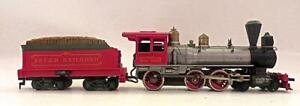 HO TYCO  BPS&D IRON HORSE 4-6-0 Old Time Steam Loco &Tender No Reserve (4EJ)