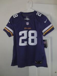 Nike - Adrian Peterson Minnesota Vikings #28 WOMENS Jersey sz. S * NWT $145 MSRP