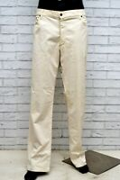 Pantalone MARLBORO CLASSICS Uomo Taglia 42 Jeans Pants Man Cotone Gamba Dritta