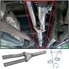 Dual Exhaust Muffler Delete Pipe For 09-19 Dodge Ram 1500 5.7L Pickup Truck