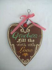 Unbranded Heart Decorative Hanging Signs