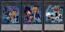 Yami + Kaiba + Joey 3 Card Ultra Rare Token Set LDK2-ENT Yu-Gi-Oh!