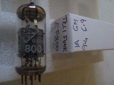 EF800 TELEFUNKEN    C  EF80  USED OLD STOCK VALVE TUBE 1PC J17C