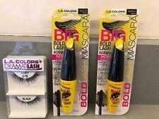 L.A. Colors (2) Big Bold Lash Formula Black Mascara & Free Eyelash