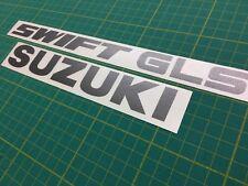 Suzuki Swift GLS 1.0 tailgate replacement decal sticker graphic GTI 1.3