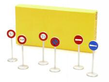 Dinky 40 Panneaux de Signalisation Ville Verkehrszeichen  OVP 7010-15-2