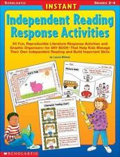 Instant Independent Reading Response Activities : 50 Fun, Reproducible...