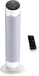Rowenta HQ8110 Silent Comfort Turmventilator | 3in1 - Kühlen Heizen Luftreiniger
