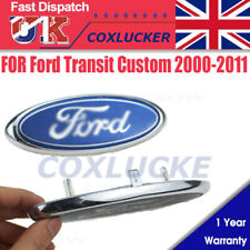 For For-d Rear Oval Badge Emblem Fit Transit Custom 2000-2011