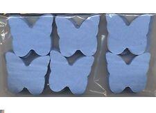 Confettis papillons bleu ciel en papier de soie ignifugé 50 grammes mariage fete