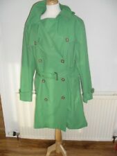 Tommy Hilfiger Double Breasted Green Brier Trench Coat XXL