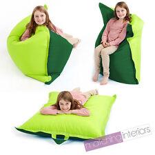 Lime Green Bean Bag Slab Large Children's Kids Beanbag Cushion Splashproof Seat
