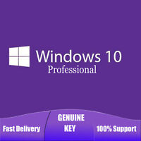 Windows 10 Pro Professional 32/64 Bit Genuine License Key Product Code