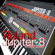 Roland Jupiter 8 - the very Best of/original WAV/KONTAKT sound library on CD