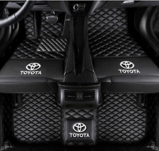 For Toyota Toyota Camry 2006 2020 Leather Car Floor Mats Waterproof Matlogo Fits 2012 Toyota Camry