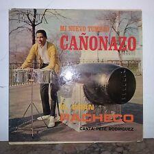 J.Pacheco-Cañonazo.Rare ORIG.1st.Press-GOLD LABEL.Fania 1st.Ever Lp'64-Exc Tops!