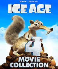 Ice Age 4 Movie Collection Blu-ray New DVD! Ships Fast!