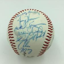 Incredible Derek Jeter Rookie Triple-A All Star Game Team Signed Baseball JSA