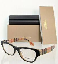 Brand New Authentic Burberry Eyeglasses BE 2302 3806 Black 53mm 2302 - F