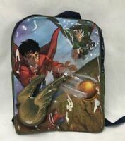 Harry Potter Quidditch Golden Snitch Backpack Original 2001 New with Tag RARE