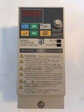 Omron Sysdrive Inverter 3G3MV-C2001 3G3MV 200V 3 phase
