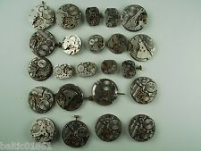 Wristwatches 23pcs Movements &Parts Only Untested Soviet Watch Steampunk Art 850