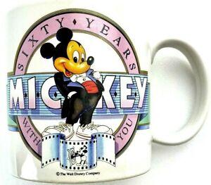 Mickey Mouse Mug #14666 Disney  60th Birthday Ceramic Coffee
