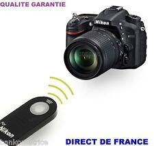 Télécommande Infrarouge type ML-L3 pour Nikon D7100 D7000 D5300 D5200 D5100