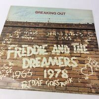 Freddie and the Dreamers 'Breaking Out' EX/VG+ Signed By Freddie Vinyl LP
